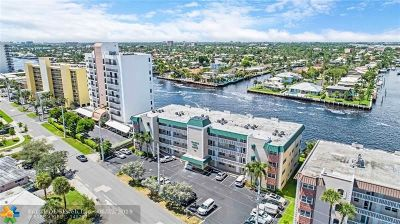 Pompano Beach Condo/Townhouse For Sale: 711 N Riverside Dr #406