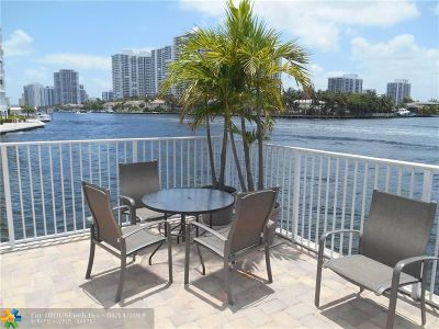 Hallandale Condo/Townhouse For Sale: 3161 S Ocean Dr #504