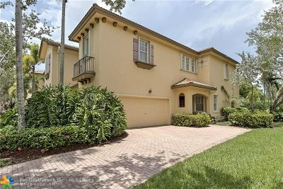 Coral Springs Condo/Townhouse For Sale: 5745 NW 120th Ave