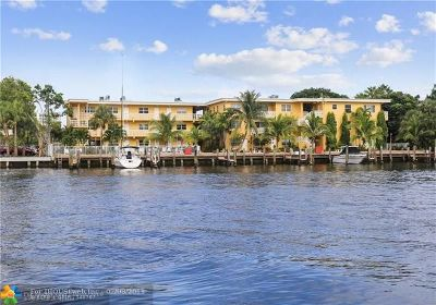 Fort Lauderdale Condo/Townhouse For Sale: 815 Middle River Dr #301