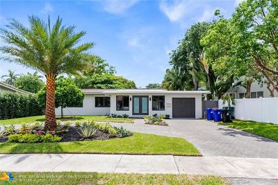 Fort Lauderdale Single Family Home For Sale: 1207 Cordova Rd