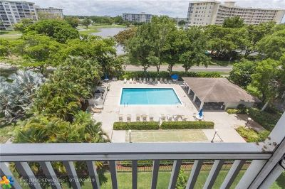 Pompano Beach Condo/Townhouse For Sale: 2900 N Course Dr #601