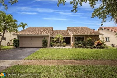 Plantation Single Family Home For Sale: 10603 NW 6 St