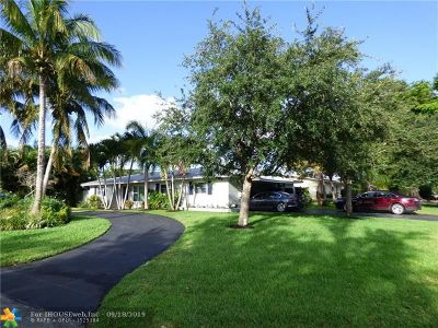 Fort Lauderdale Single Family Home For Sale: 2096 NE 55th Ct