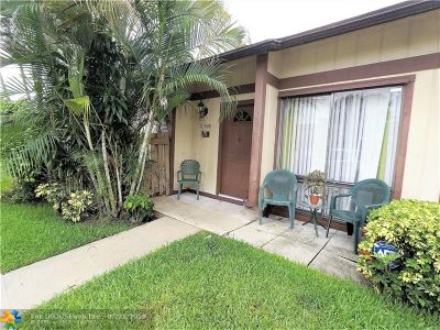 Sunrise FL Condo/Townhouse For Sale: $239,500