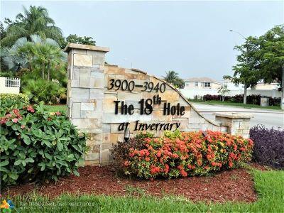 Condo/Townhouse Sold: 3910 Inverrary Bl #401-B