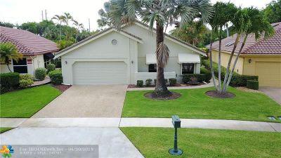 Boca Raton Single Family Home For Sale: 21428 Bridge View Dr