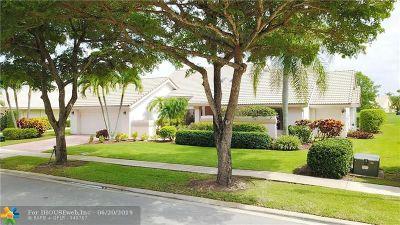 Boca Raton Single Family Home For Sale: 10311 Boca Woods Lane