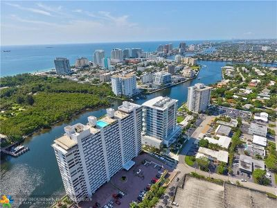Fort Lauderdale Condo/Townhouse For Sale: 936 Intracoastal Dr #12-B