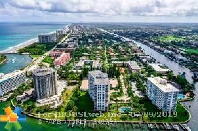 Palm Beach County Condo/Townhouse For Sale: 1040 Banyon #201