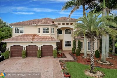 Boynton Beach Single Family Home For Sale: 8765 Baystone Cv