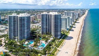 Fort Lauderdale Condo/Townhouse For Sale: 3100 N Ocean Boulevard Ph 2801 #2801