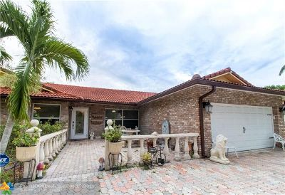 Coral Springs Single Family Home For Sale: 11976 NW 24th St