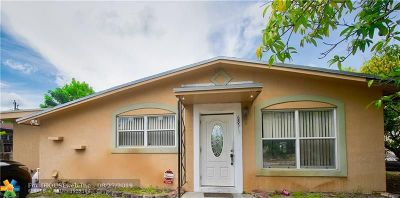 Miramar Single Family Home For Sale: 6851 SW 22nd St