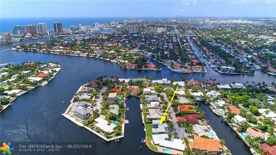 Fort Lauderdale Single Family Home For Sale: 632 4th Key Dr