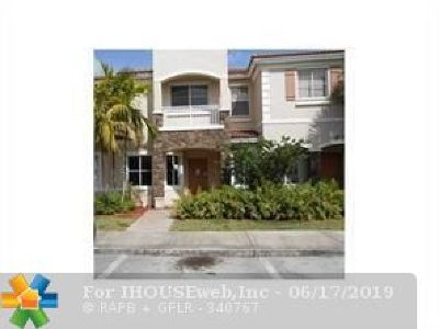 Miramar Condo/Townhouse For Sale: 2810 SW 82nd Ave #2810