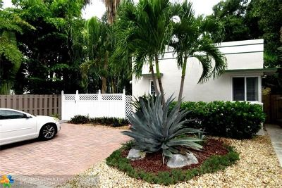 Fort Lauderdale Multi Family Home Backup Contract-Call LA: 1205 NE 3rd St