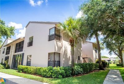 Coconut Creek Condo/Townhouse For Sale: 3406 47th Ave #3406