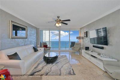 Condo/Townhouse For Sale: 3100 N Ocean Blvd #1202