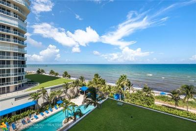 Hollywood Beach, Hollywood Beach 1-27 B, Hollywood Beach Gardens 1, Hollywood Beach Gardens C, Hollywood Beach Heights S Condo/Townhouse For Sale: 6001 N Ocean Dr #601