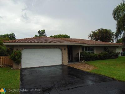 Coral Springs Single Family Home For Sale: 3720 NW 114th Ln