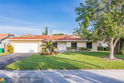 Coral Springs Single Family Home For Sale: 404 NW 107th Ter