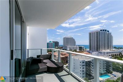 Fort Lauderdale Condo/Townhouse For Sale: 401 N Birch Rd #1216