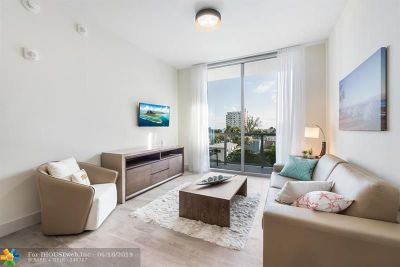 Hollywood Condo/Townhouse For Sale: 777 N Ocean Dr #N413