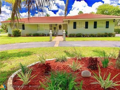 Coral Springs Single Family Home For Sale: 3211 NW 89th Ter