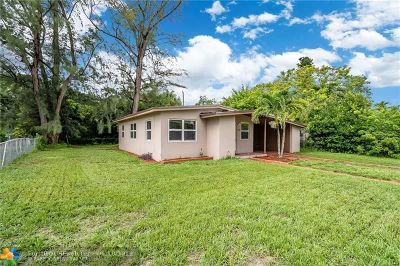 Fort Lauderdale Single Family Home For Sale: 1000 NW 13th Ct