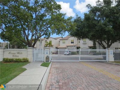 Lauderdale By The Sea Condo/Townhouse Backup Contract-Call LA: 1900 Oceanwalk Ln #107