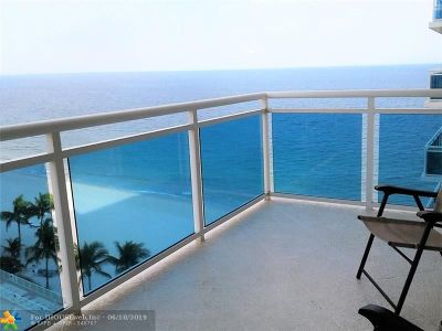 Fort Lauderdale Condo/Townhouse For Sale: 3430 Galt Ocean Drive #1005