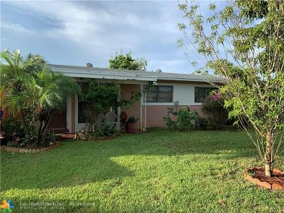 Fort Lauderdale Single Family Home For Sale: 3609 SW 22nd St
