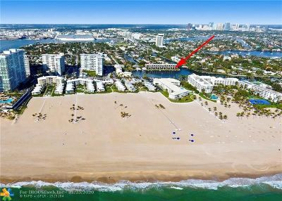 Fort Lauderdale Condo/Townhouse For Sale: 1800 S. Ocean Dr. #101 & 10