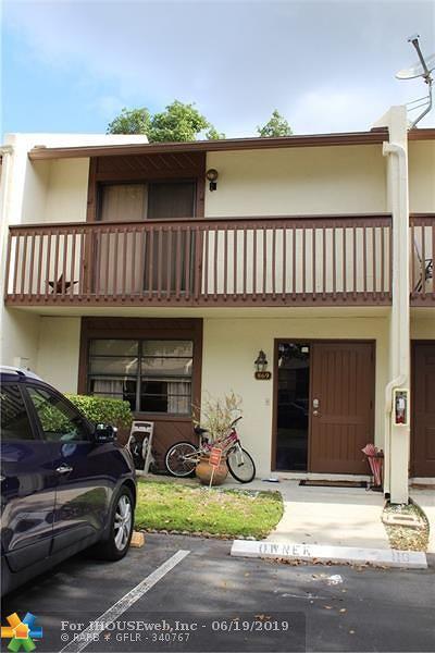 Pompano Beach Condo/Townhouse For Sale: 869 NW 47th St