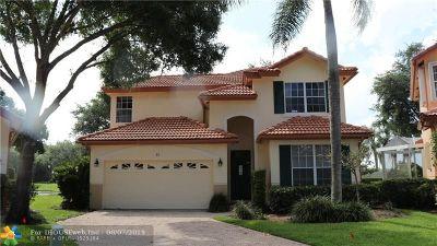 Palm Beach Gardens Single Family Home For Sale: 46 Pinnacle Cv