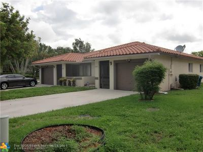 Coral Springs Multi Family Home For Sale: 3297-3299 NW 120 Avenue