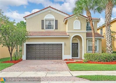 Coral Springs Single Family Home For Sale: 12648 NW 8th Ct