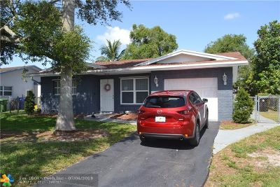 Fort Lauderdale Single Family Home For Sale: 6661 NW 33rd Way