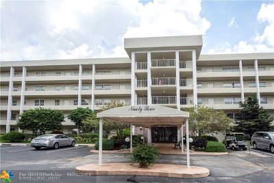 Pompano Beach FL Condo/Townhouse For Sale: $299,900