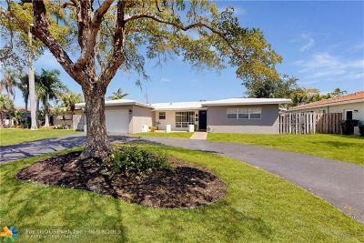 Oakland Park FL Single Family Home For Sale: $494,000