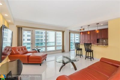 Fort Lauderdale Condo/Townhouse For Sale: 3400 Galt Ocean Drive #1207