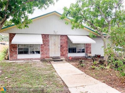 Fort Lauderdale Single Family Home For Sale: 4840 SW 25th Ave