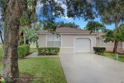 Coral Springs Single Family Home For Sale: 8800 NW 39th Ct