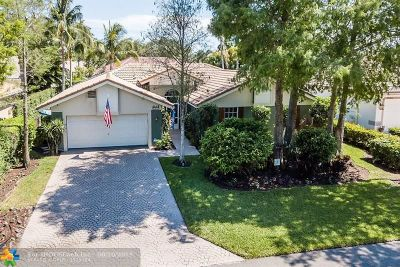 Coconut Creek Single Family Home For Sale: 4242 66th St