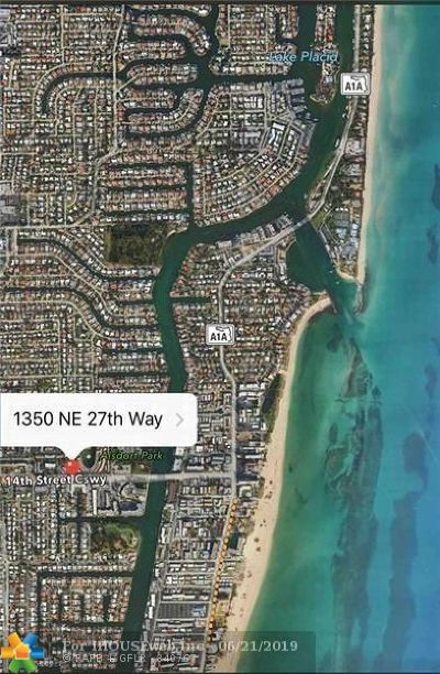 Pompano Beach Residential Lots & Land For Sale: 1350 NE 27th Way