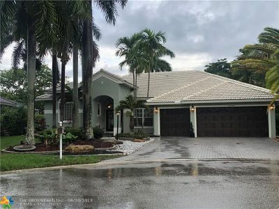 Coral Springs Single Family Home For Sale: 4436 NW 82 Av