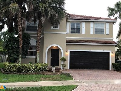 Coral Springs Single Family Home For Sale: 822 NW 126th Dr