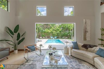 Wilton Manors Single Family Home For Sale: 535 NE 25th St