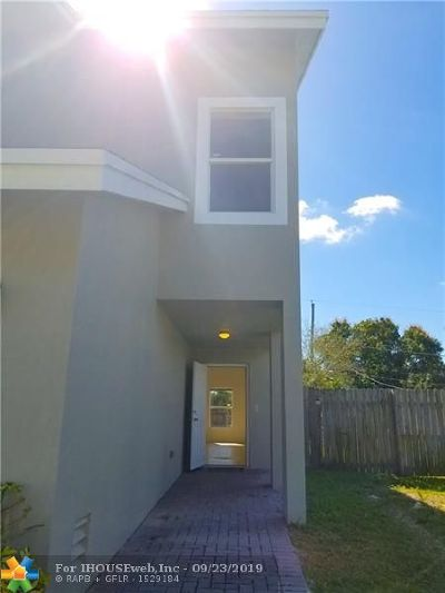 Pompano Beach FL Single Family Home For Sale: $319,900